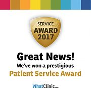 WhatClinic Dentist Customer Service Award
